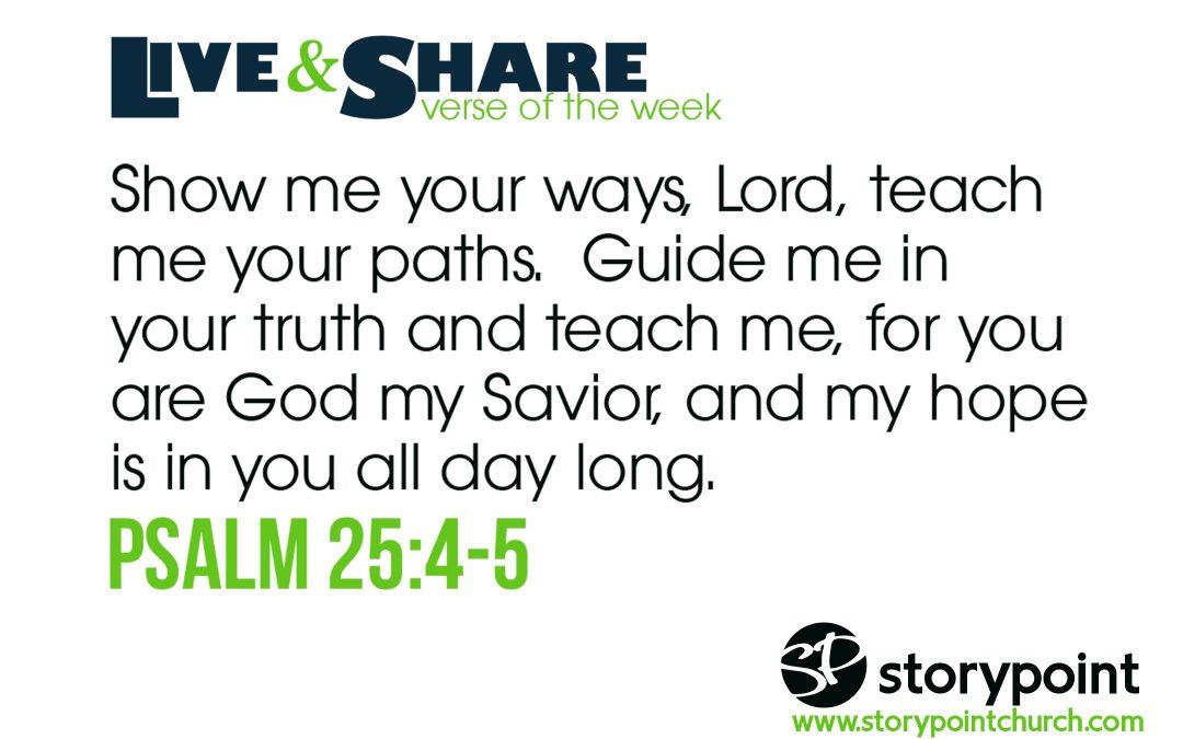 03.05.17 Verse of the Week