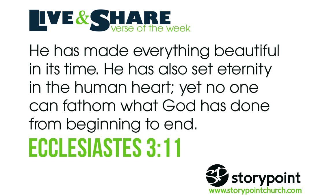 05.21.17 Verse of the Week