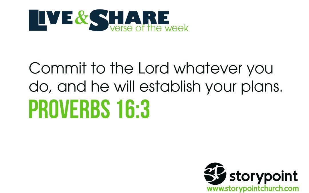 07.16.17 – Verse of the Week