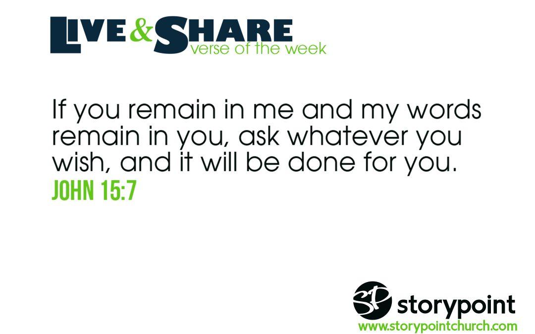 02.25.18 – Verse of the Week