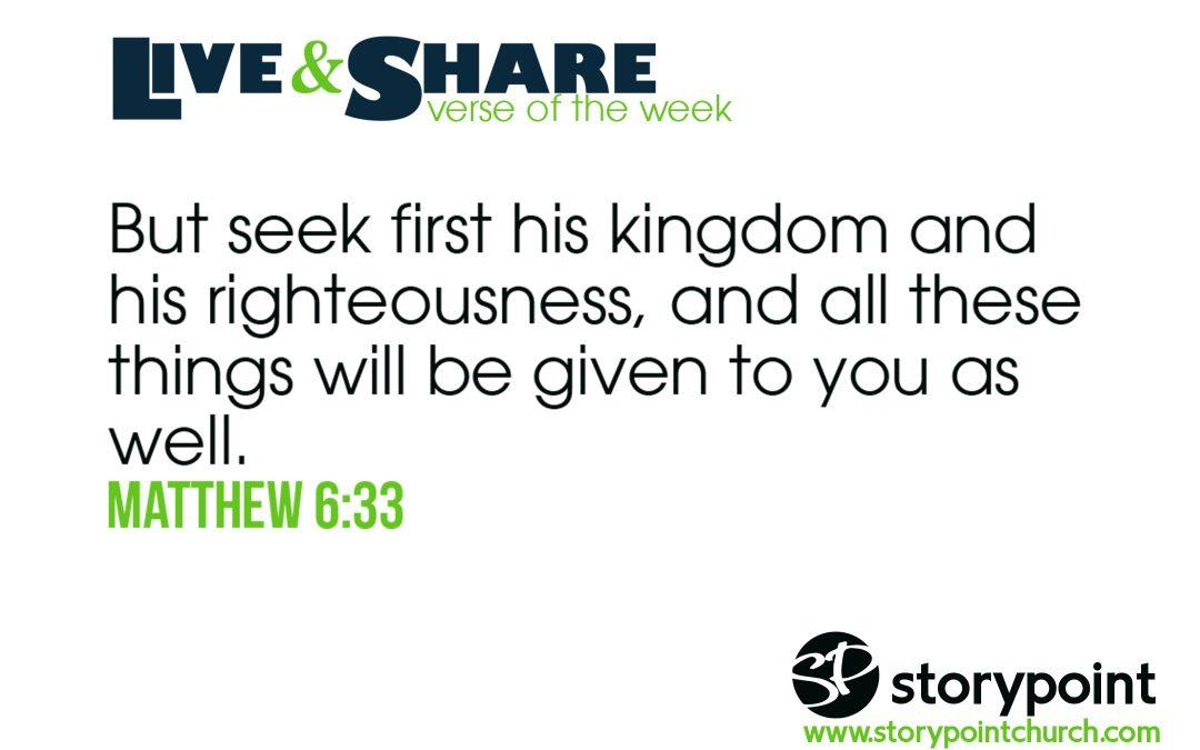 09.30.18 – Verse of the Week