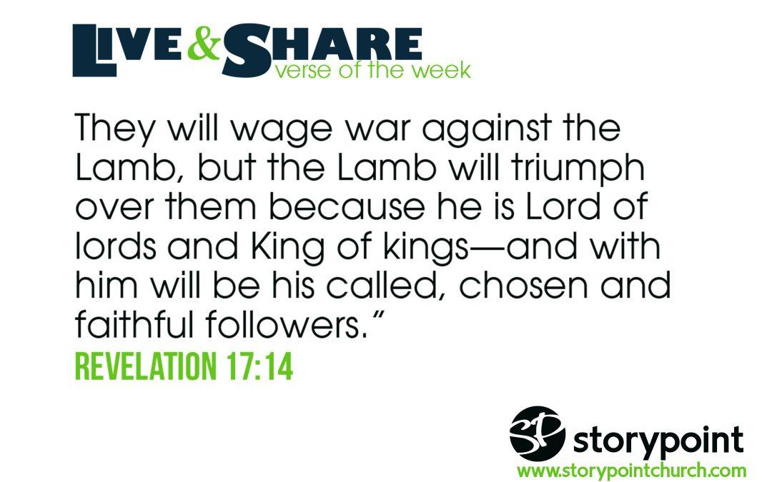 01.20.19 – Verse of the Week