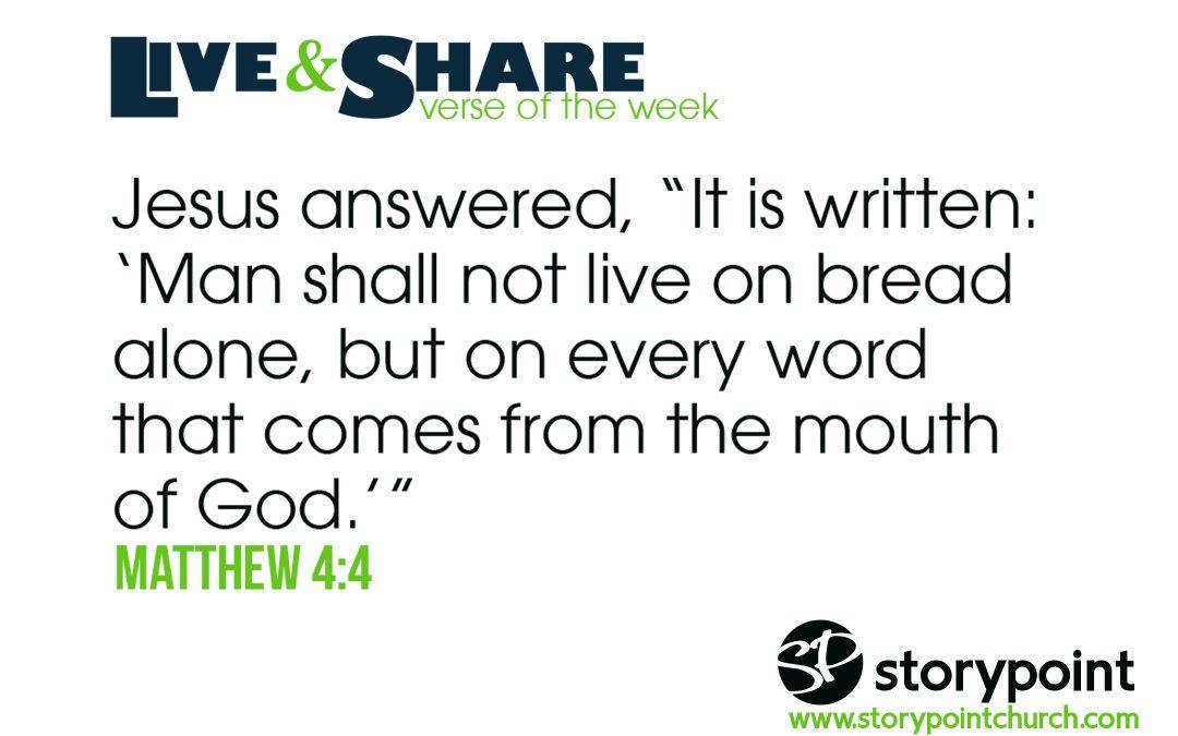 02.03.19 – Verse of the Week