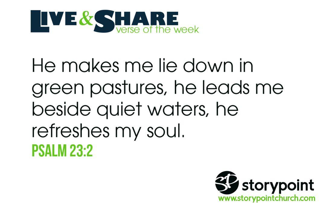 03.24.19 – Verse of the Week