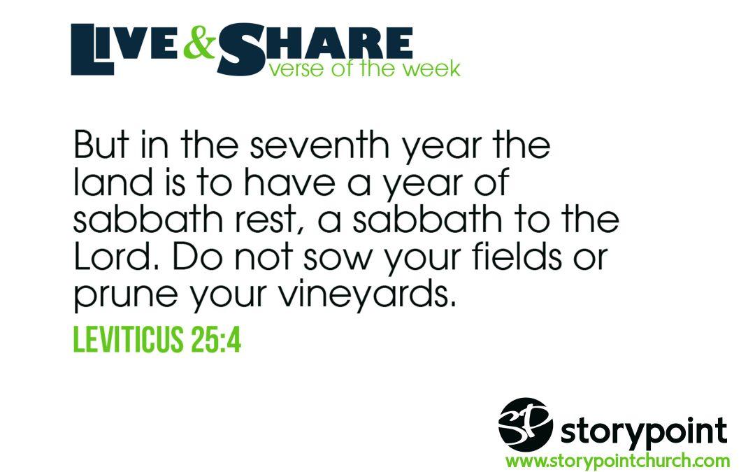 04.28.19 – Verse of the Week