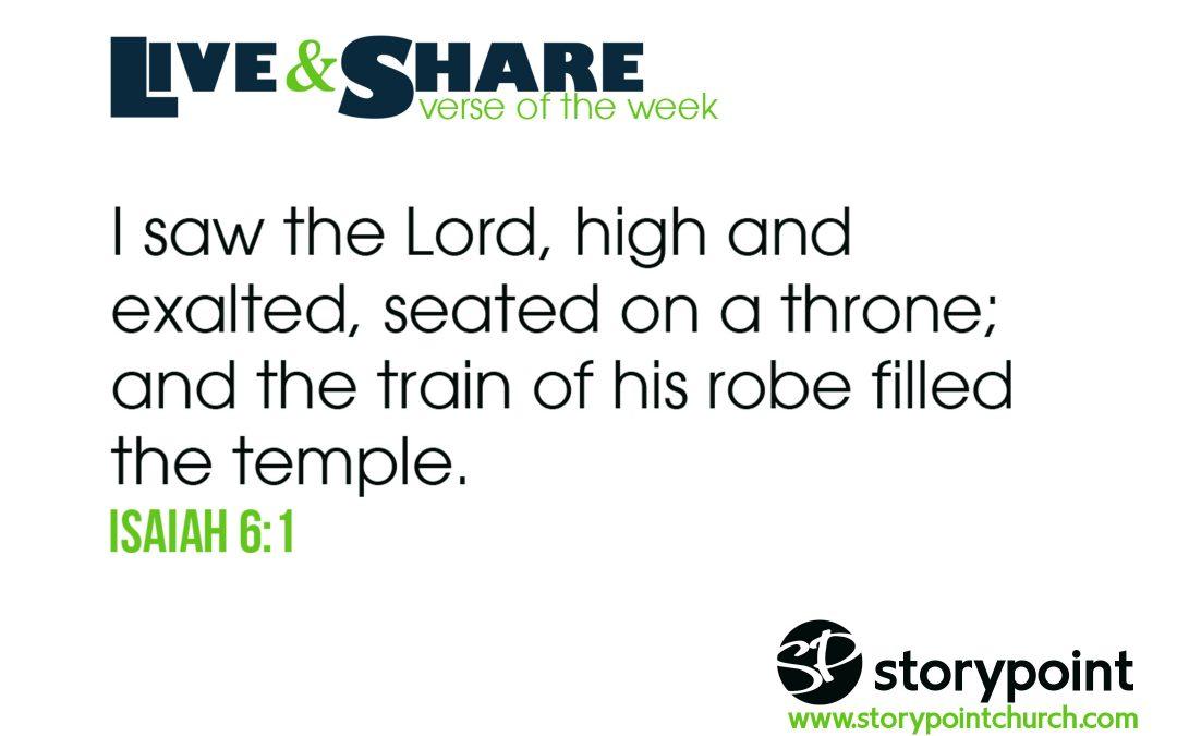 03.31.19 – Verse of the Week