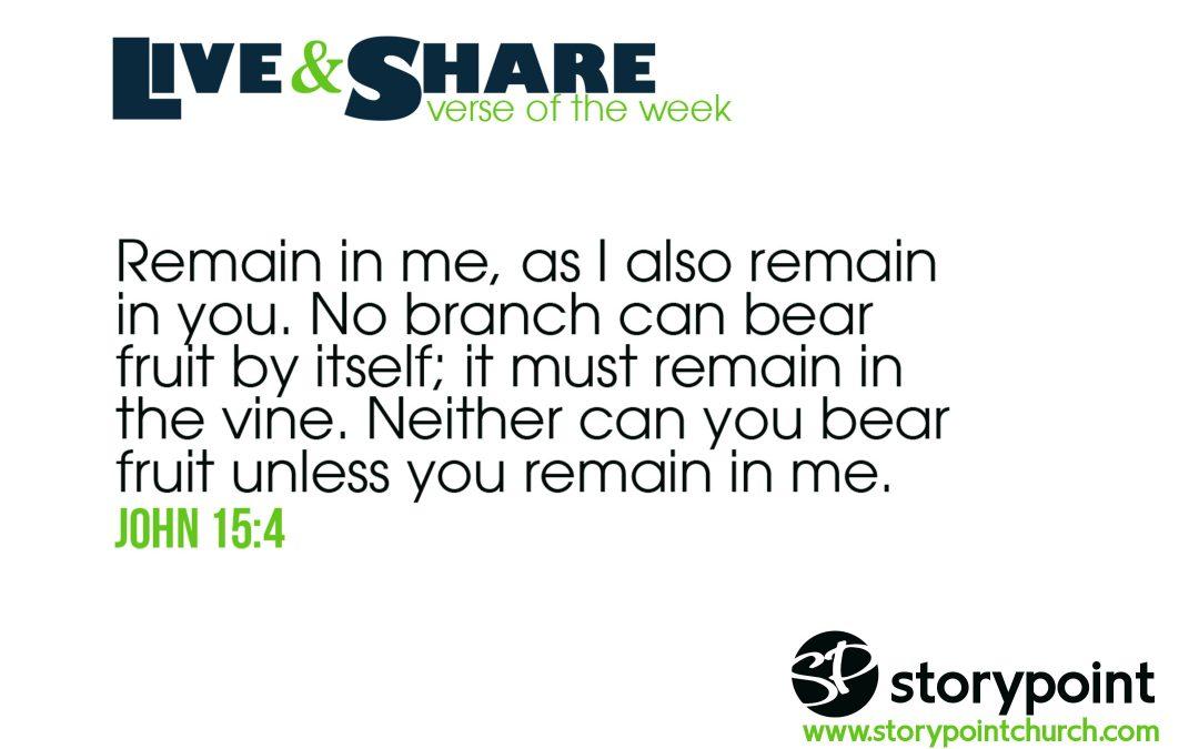 06.02.19 – Verse of the Week