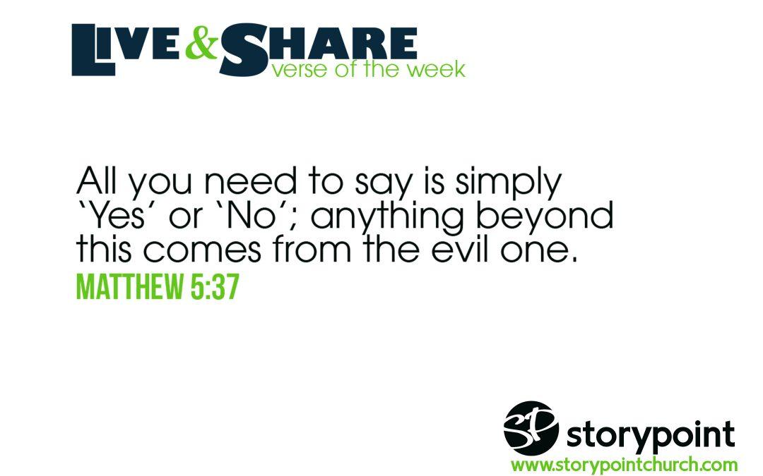 05.19.19 – Verse of the Week