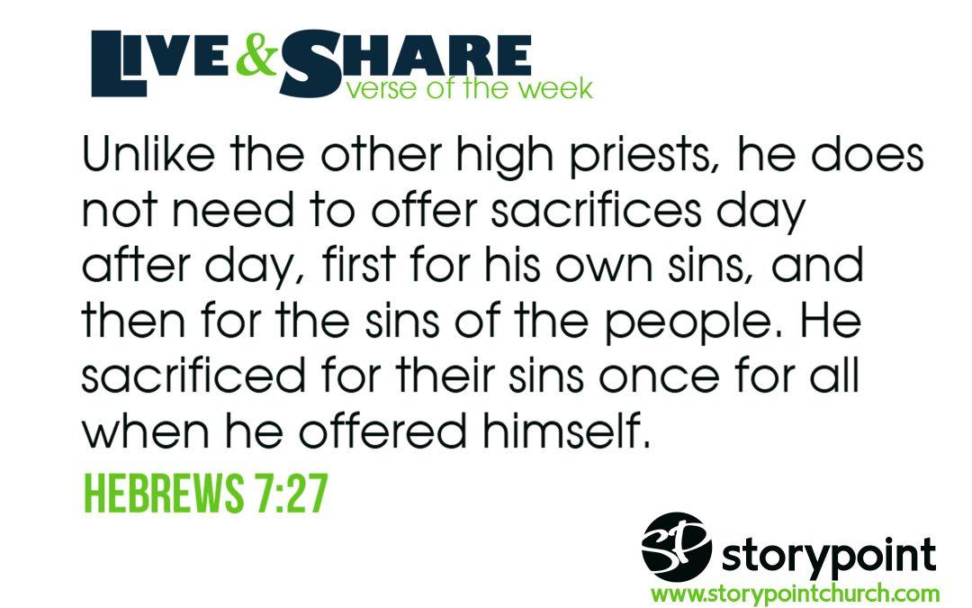 07.14.19 – Verse of the Week