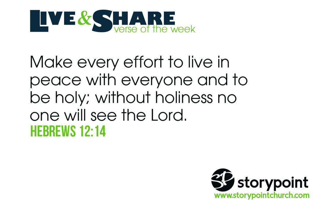 09.08.19 – Verse of the Week