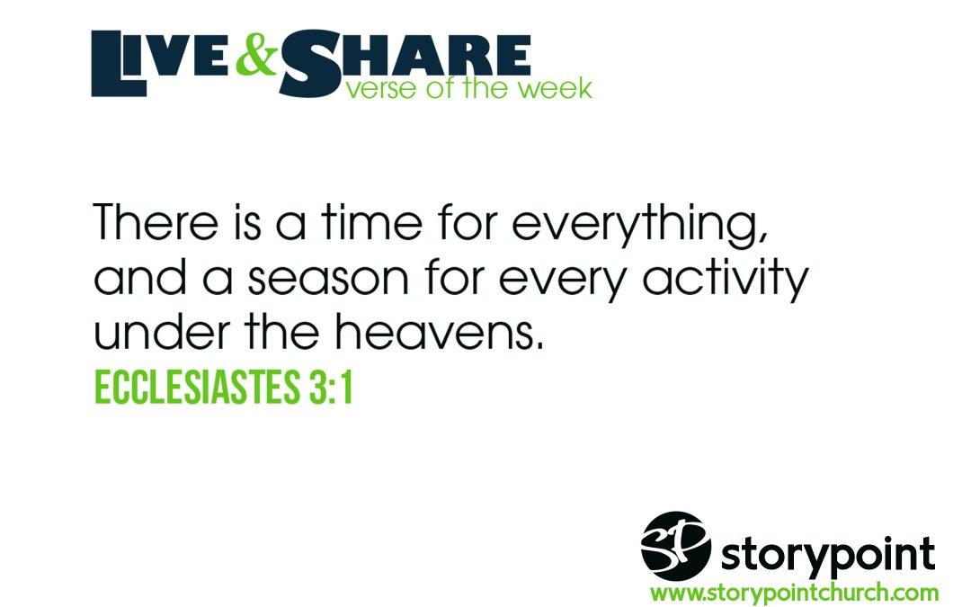 12.29.19 – Verse of the Week